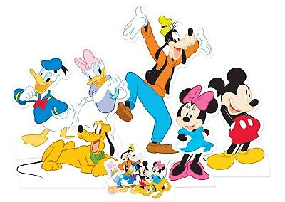 Mickey Mouse Cutouts (Mickey Mouse and Friends Official Table Top Cardboard Cutouts Party Pack of)