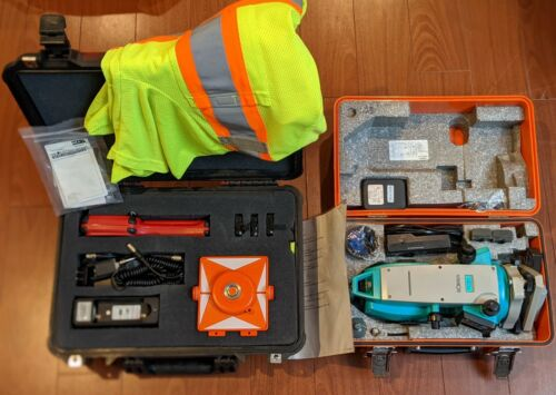 Sokkia Set600 with MicroSurvey Tracker Xtr Field Genius 2007 with version 3.1.2