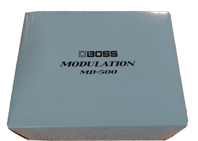 Boss MD-500 Modulation Pedal - Demo Open Box