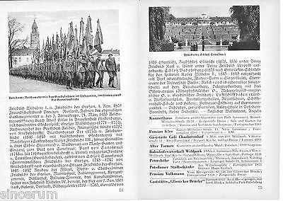 Potsdam 1936 orig Wanderf. + Photos Garnisonkirche Sanssouci *Stern & °Kreis