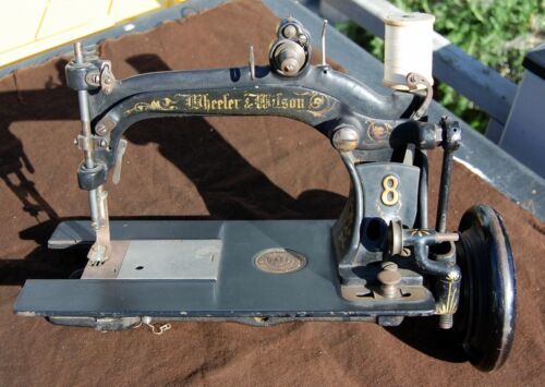 Wheeler & Wilson #8 Sewing Machine