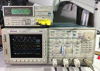 Tektronix Tds784d Oscilloscope 1ghz 4gss 13 1f Hd 2m 2f 2c Cem Jit Prt Eye