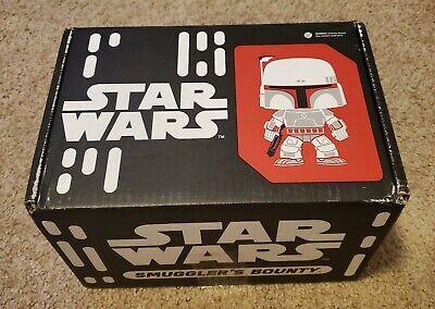 Funko Star Wars Smuggler's Bounty Box May 2016 Bounty Hunters w/ Boba Fett Pop