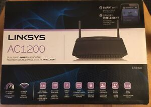 Linksys AC1200/EA6100 Wi-Fi router
