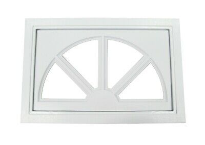 Garage Door Windows Sunburst