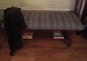 OOAK Christmas Gift! Antique Solid Maple Entry Bench!  St. John's Newfoundland image 2