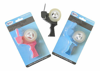 Handheld Mini Tape Dispenser Refillable 34 Tape Mail Packaging Arts And Crafts