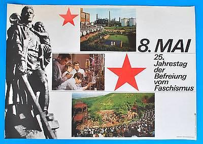 DDR Plakat Poster 1339 | 8. Mai 1970 25. JT der Befreiung | 81 x 58 cm Original online kaufen