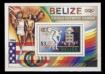 Belize 05  1984 Olympics     MNH