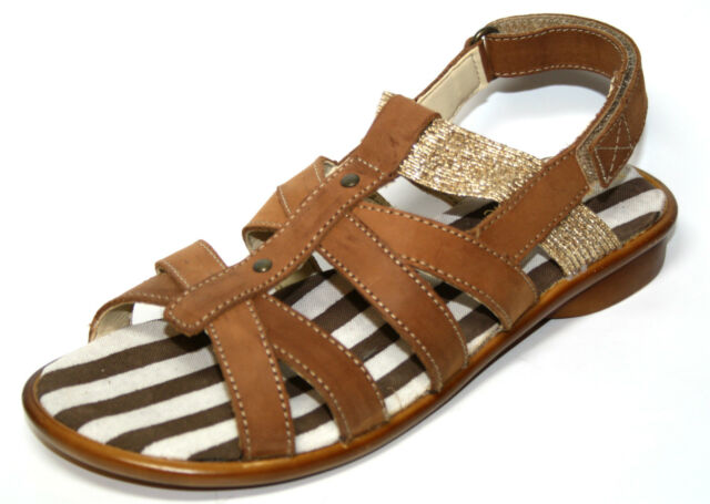 Richter Size 38 Girl Summer Shoes Sandals 12.5402.1330 Shoes for Girls NEW