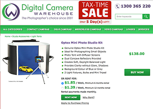 Optex PHOTO LIGTHING BOX Alderley Brisbane North West Preview
