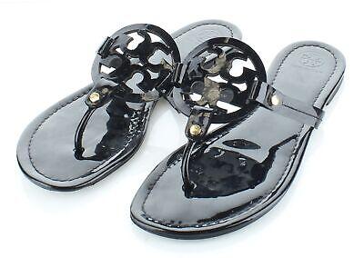 55-59 $198 Womens Size 9M Tory Burch Sandal in Black