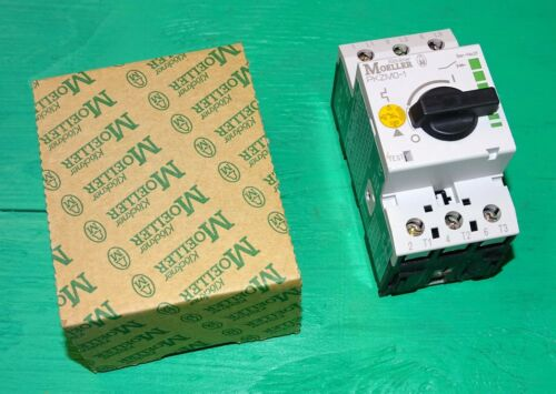 NEW Klockner Moeller PKZM0-1 motor protective switch, manual motor protector
