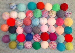 Mixed Job Lot 20 balls DK 100% acrylic DK Wool/Yarn Knitting Crafts - Xmas Toys