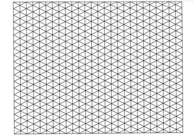 A Isometric Mm Graph Paper  Sheets Pad Gsm Quality Heavy