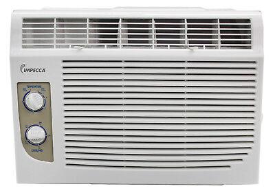 Impecca 5000 BTU Window Air Conditioner, Cools up to 150sqft w/2 Fan Speeds