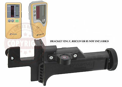 TOPCON HOLDER 6 LASER RECEIVER BRACKET, SENSOR CLAMP,LS50,LS70,LS80,DETECTOR