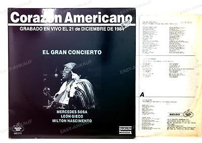 Sosa / Gieco / Nascimento - Corazón Americano GER LP 1986 FOC + Innerbag /4
