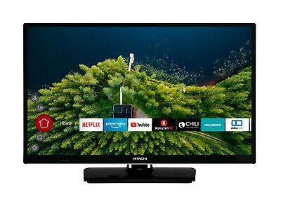 Hitachi H24E2000 Fernseher 24 Zoll HD ready Triple Tuner Smart TV PVR Alexa DTS