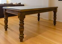Solid Wood Dining Table (Removable Glass Top) Woolloomooloo Inner Sydney Preview