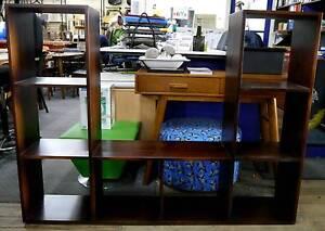Ex Display Timber TV Unit Storage Cube Display Shelving Shelves Melbourne CBD Melbourne City Preview