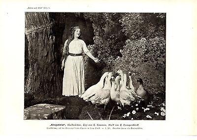 New York Uraufführung Königskinder E.Rosner/E.Humperdinck Metropolitan Opera1912