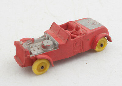 Auburn Rubber Race Car Red Number 9 (G4L) Yellow Wheels