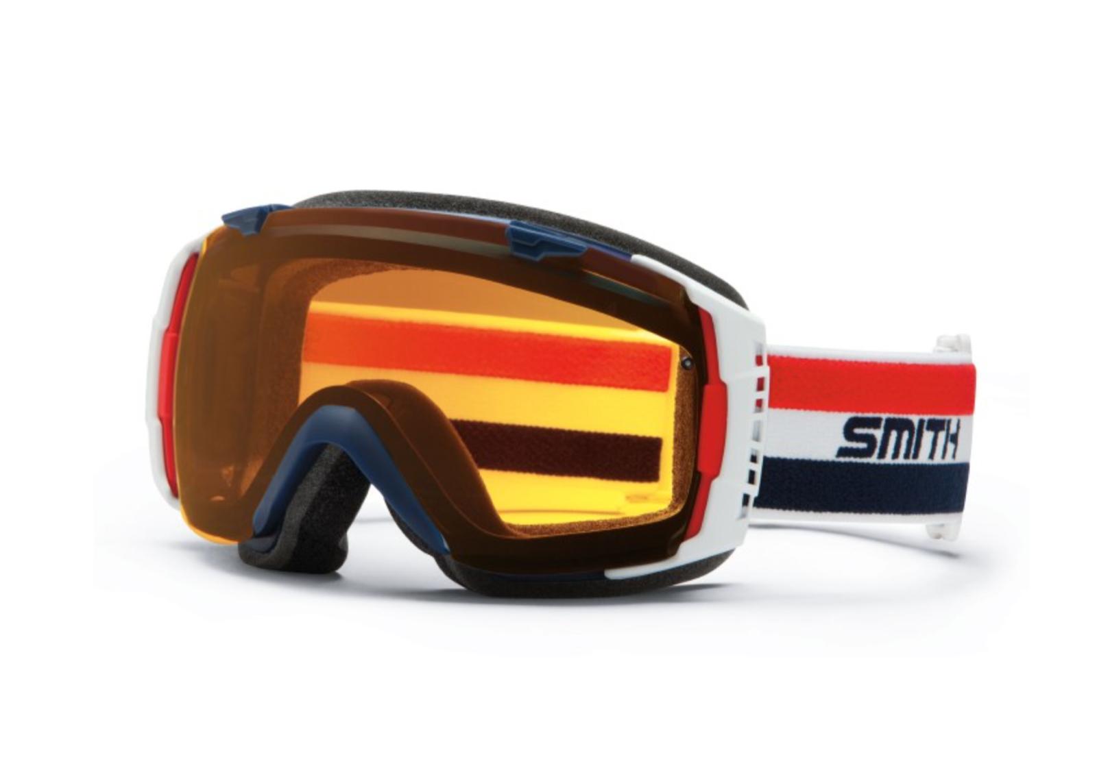 i o dr bob ski goggles retro