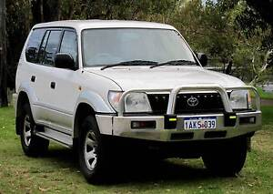1999 Toyota Land Cruiser Prado 90 Series GXL 3.4L V6 Automatic Belmont Belmont Area Preview