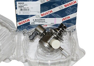New! Land Rover HIGH PRESSURE FUEL PUMP (Made GERMANY) OEM BOSCH 66800 LR025599