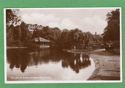 The Lake St Stephen's Green Park Dublin RP pc unused Philco Ref H138