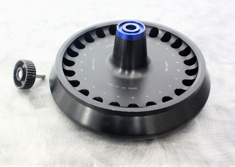 Beckman 347824 JA-18.1 24x1.8mL Fixed Angle Rotor 18K RPM Tested w/ Warranty