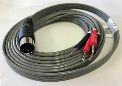 """LEAD WIRE FOR CHATTANOOGA FORTE 200 COMBO ULTRASOUND THERAPY 72"""" LONG"""