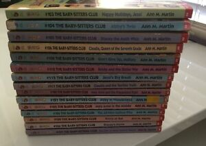 The Baby-Sitters Club Hard To Find High Numbered Titles! *Sold*