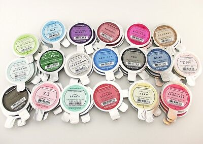 Scent Refill - Bath Body Works Scentportable Car Fragrance Refill Disc Set of 3 Pick Your Scent