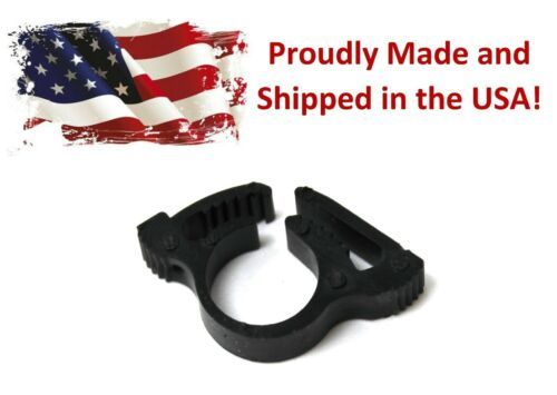 1/4 inch High Pressure Drip Irrigation Tubing Clamps - Pick a quantity