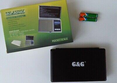 G&G 300g/0,01g MS-B Feinwaage Goldwaage Digital-waage Taschenwaage
