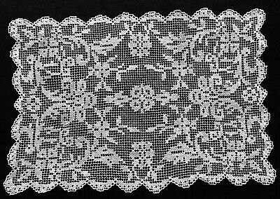 White floral vintage lace 1 Inch wide Delicate antique shabby chic lace Openwork decorative tape Scrapbooking materials Sewing craft item