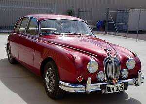 COLLECTABLE CLASSIC CARS -1964 Jaguar MK II 3.8 (Manual with O/D) Woodside Adelaide Hills Preview