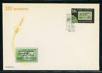 COHETE POSTAL SPACE FDC Selections: Postal 25th Ann Rocket LOT #3 - SEE SCAN $$$