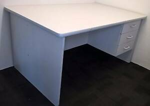 Office desk, light grey - used Perth Perth City Area Preview
