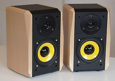 Dynavox Lautsprecher Boxen - TG-1000B-Bu - mini Regalboxen - buche - Paarpreis