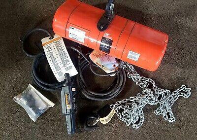 Cm Lodestar Model F 12 Ton Electric Chain Hoist 15 Lift 16 Fpm