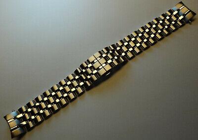 New Timex T3C301 TX Luxury 400 Series 20mm Watch Band Perpetual Weekly Calendar