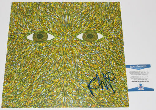 FLYING LOTUS SIGNED PATTERN+GRID WORLD ALBUM RECORD VINYL EP BECKETT COA BAS