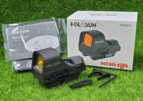 Holosun Open Reflex Illuminated 2 MOA Dot & 65 MOA Circle Red Dot Sight - HS510C