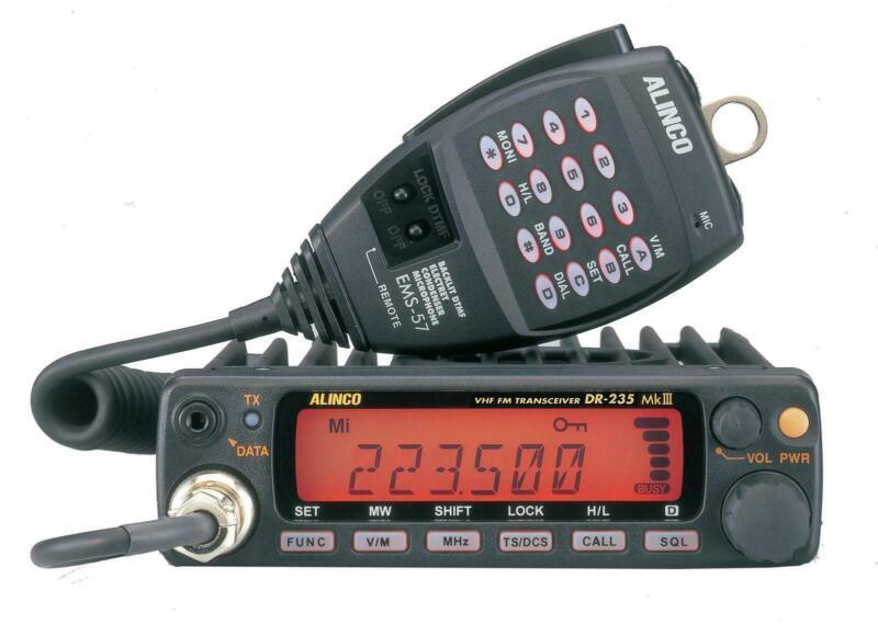 Alinco DR-235TMKIII 25W 220 MHz Ham Radio Mobile Transceiver