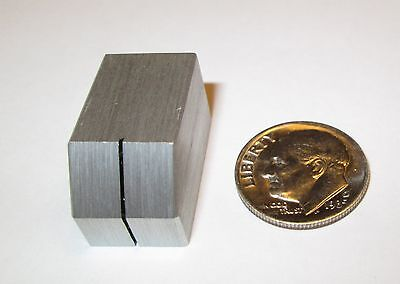 """SOLID ALUMINUM SWITCH KNOB FOR 1/4"""" SHAFT W/LINE"""