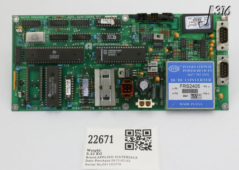 22671 Applied Materials Pcb, Wafer Orienter Board 0100-20069
