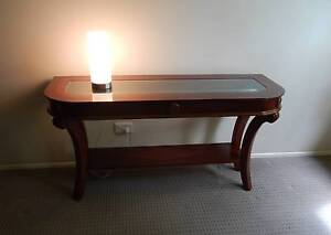 Hall Table, Elegant, with Glass Feature Top, Lovely. Thorneside Redland Area Preview